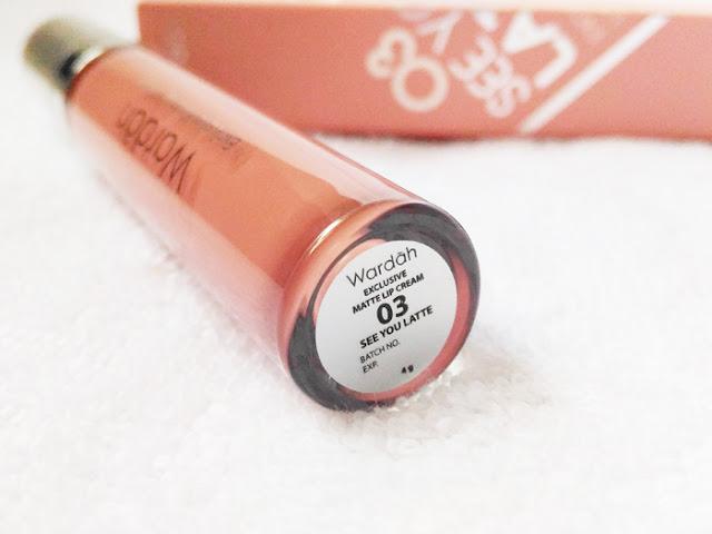 [Review] Wardah Exclusive Matte Lip Cream See You Latte dan Oh So Nude!