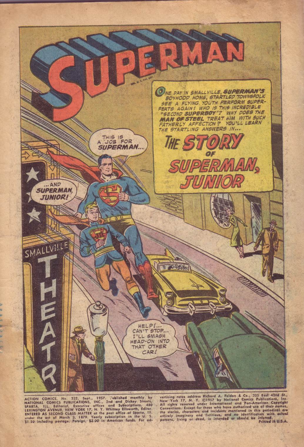 Read online Action Comics (1938) comic -  Issue #232 - 3