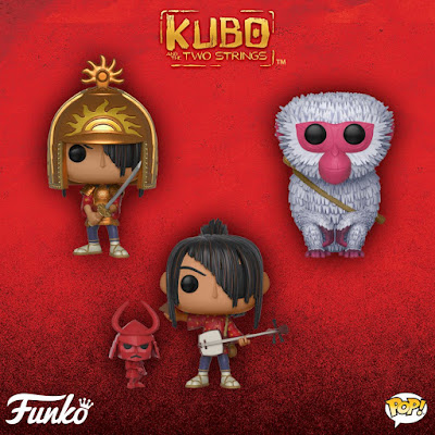 Kubo and the Two Strings Pop! Movies Vinyl Figures by Funko