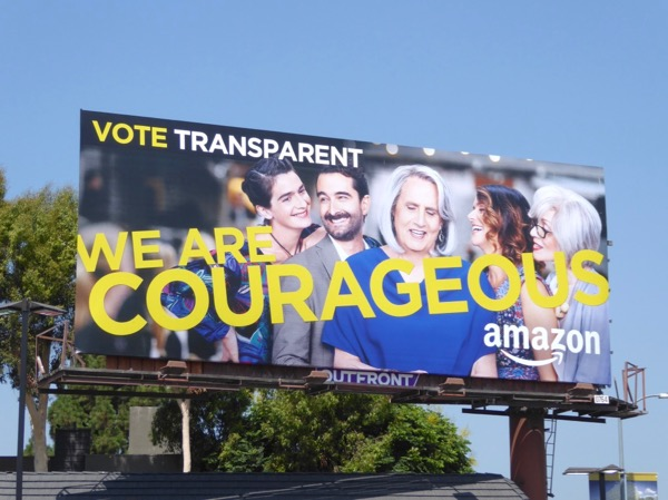 Vote Transparent We Are Courageous Emmy billboard
