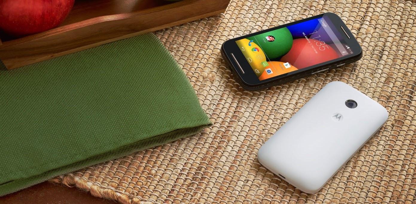 Review, Fitur, dan Spesifikasi Motorola Moto E (Secara Lengkap)