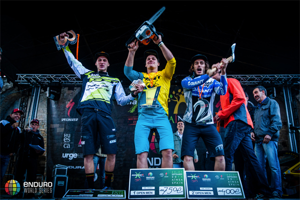 2015 Enduro World Series: Zona Zero, Spain - Results Men's Podium