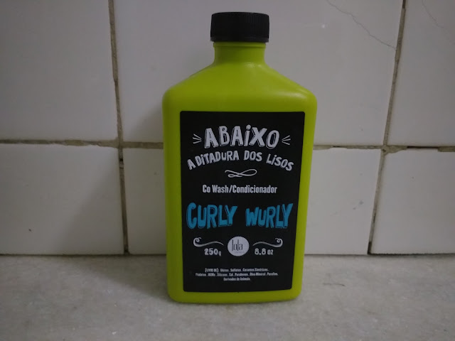 co-wash/condicionador curly wurly