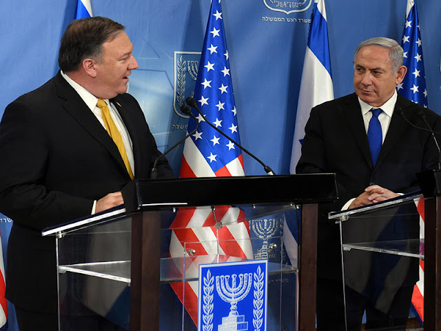 BREAKING: United States Recognizes Israel's Sovereignty Over Golan Heights