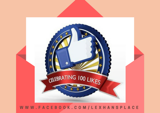 100 page likes for lexhansplace