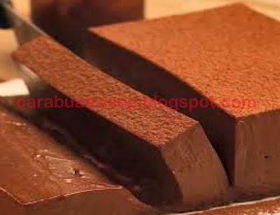 Foto Resep Chocolate Mousse Cake Lembut dan Empuk Serta Meleleh Lumer Di Mulut Sederhana Spesial Asli Enak