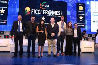 Ekta Kapoor Anurag Kashyap & Ramesh SippyAt at FICCI FRAMES 2017  0124.JPG