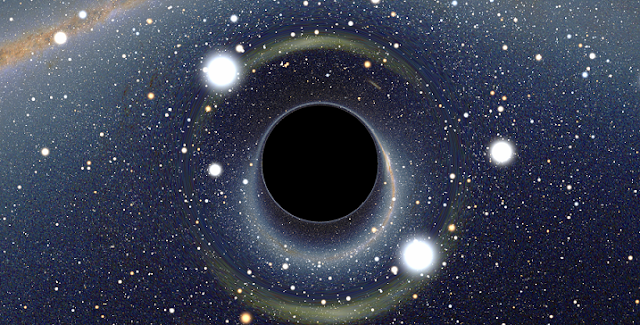 black holes curved spacetime and quantum computing