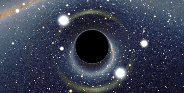 black holes curved spacetime and quantum computing