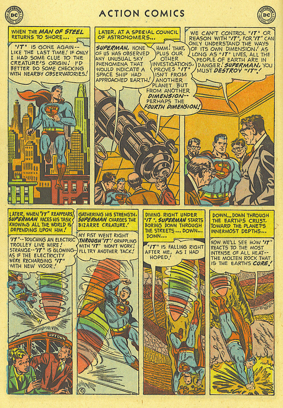 Action Comics (1938) 162 Page 6