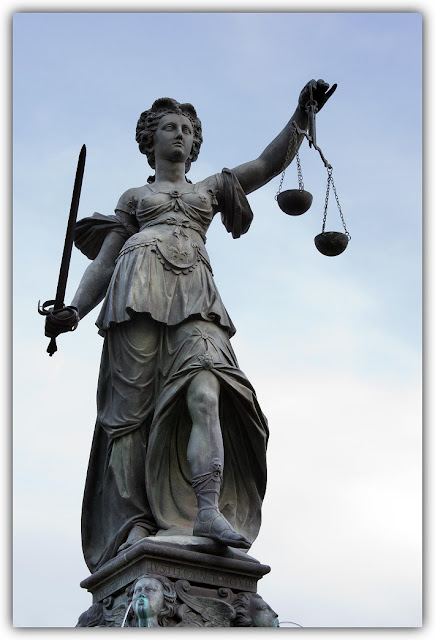Lady Justice with Sword and Balance