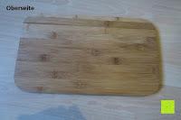 Oberseite: Brotkasten aus Bambusfaser mit Deckel aus Bambus | 42 x 23 x 12 cm | Bewahren Sie Ihr Brot luftdicht und hygienisch auf
