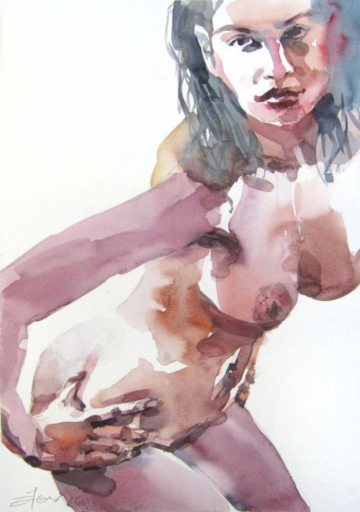 Хорватский художник. Goran Zigolic