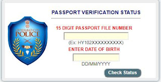 Passport Verification Status