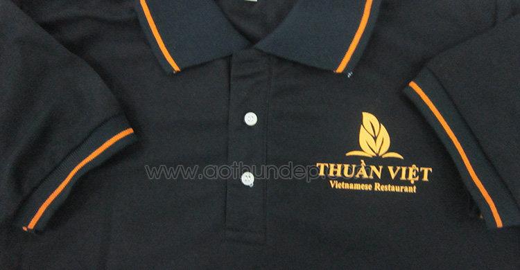 Áo thun đồng phục nhà hàng Thuần Việt