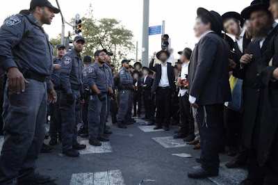 120 judeus ultra-ortodoxos detidos em Israel