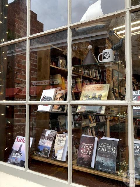 Wicked Good Books in Salem, MA Window Display