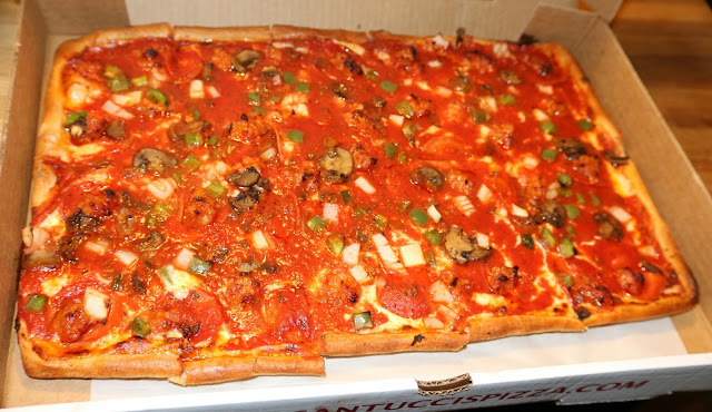 Santucci's Pizza - Large The Works