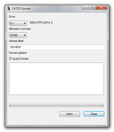 Cara Format HDD External Dari Format NTFS Ke Format FAT32
