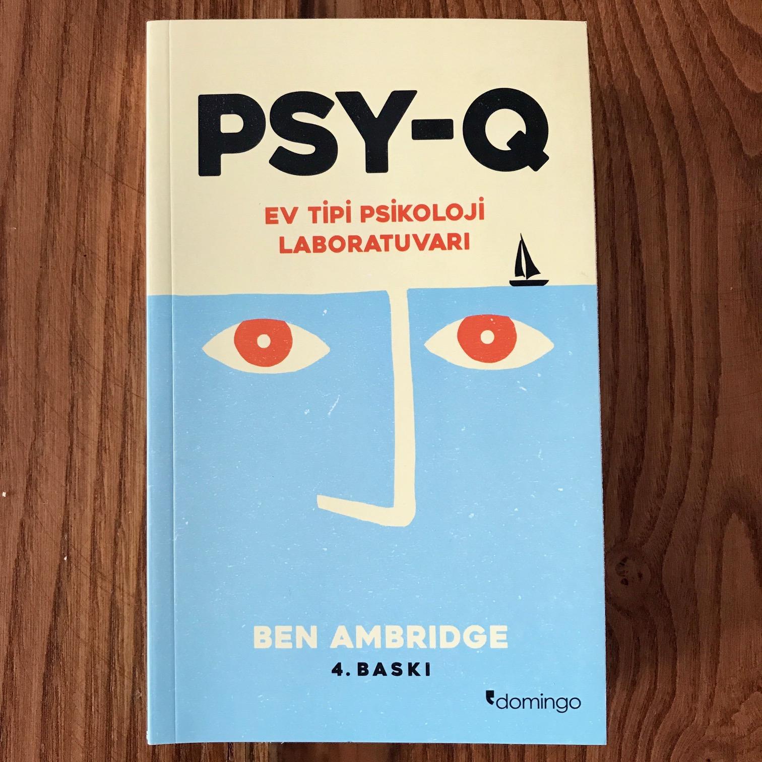 PSY-Q - Ev Tipi Psikoloji Laboratuvari (Kitap)