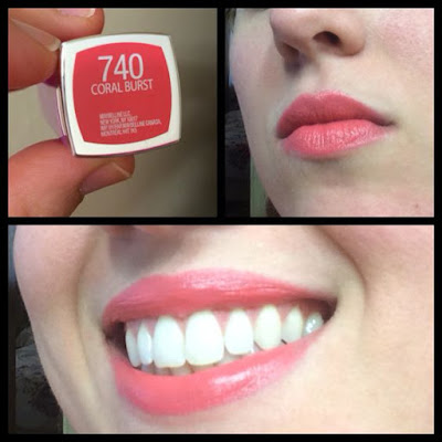 Son môi Maybelline Colour Sensational Rebel Bloom 740 Coral Burst