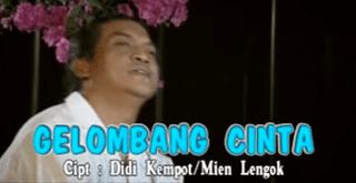 Lirik Lagu Gelombang Cinta - Didi Kempot