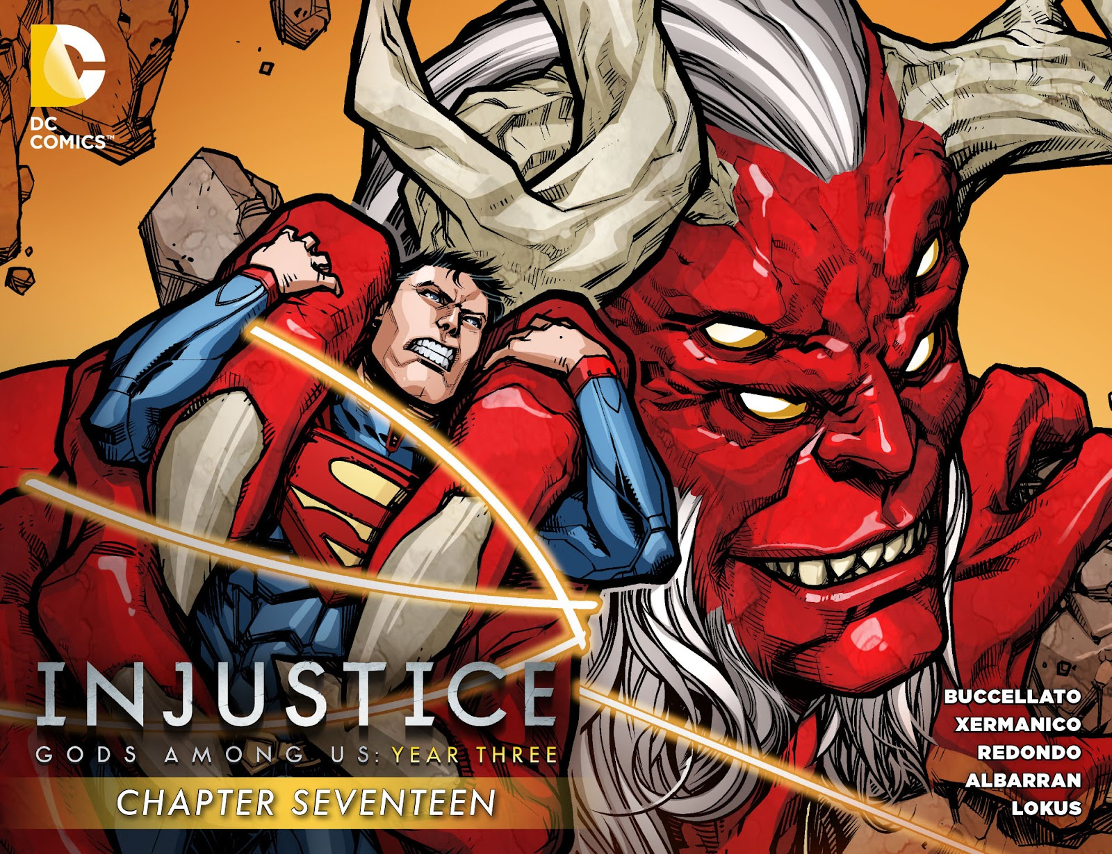 Injustice - Gods Among Us Year Three issue 17 - Page 1