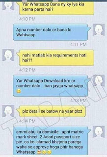 How to open a whatsapp account - funny pic