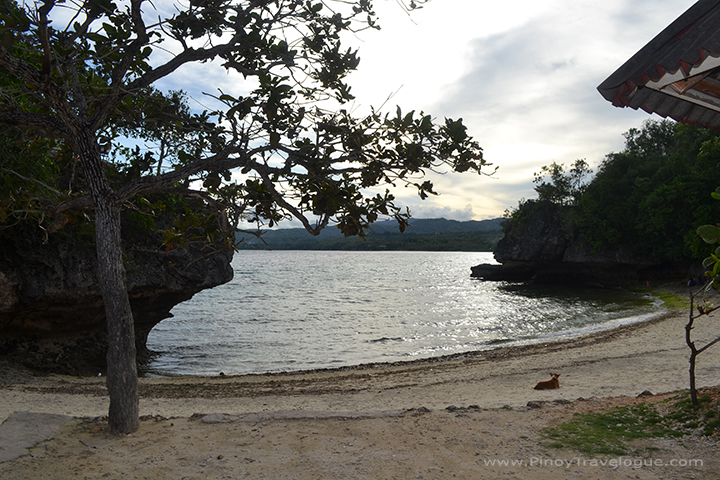 Salagdoong's cove-like beach