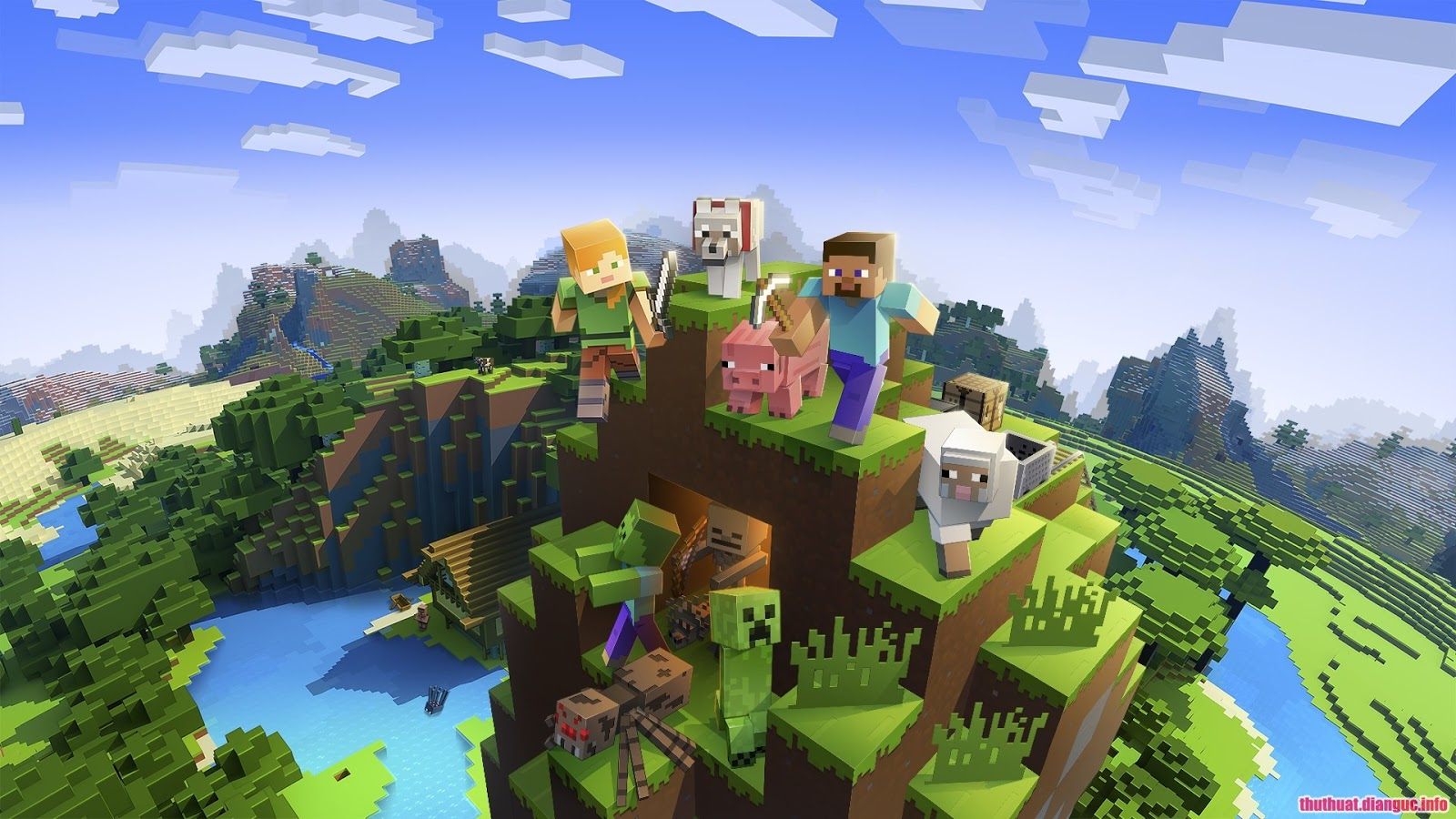 Download Minecraft – Game xây dựng thế giới mở kết hợp sinh tồn