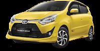 Paket Simulasi Kredit Toyota Agya di Pekanbaru