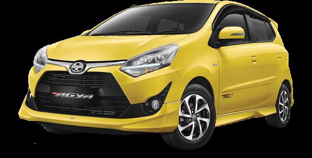 Harga dan Kredit Toyota Agya Pekanbaru Riau 2018 Terbaru