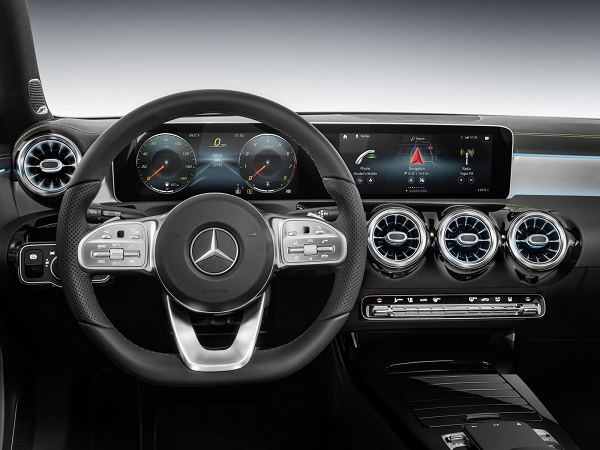 Interior Mercedes-Benz Clase A