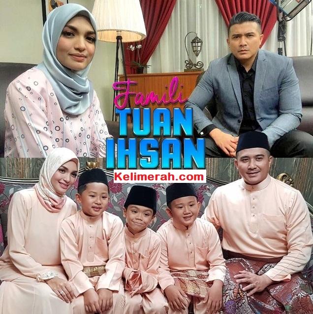 Telemovie Famili Tuan Ihsan Lakonan Aaron Aziz, Amyra Rosli