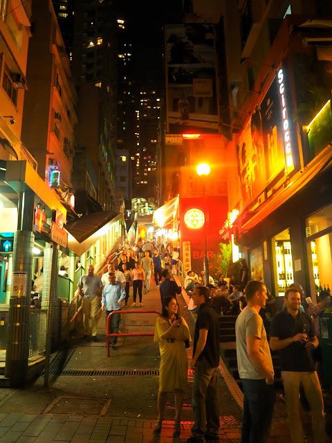 SoHo and Mid Levels Escalators in Hong Kong