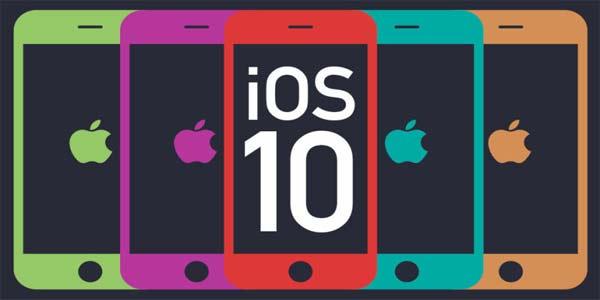 iOS 10, iPhone