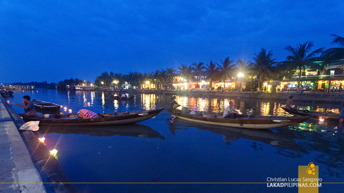 Hoi An Ancient Town Vietnam River Evening