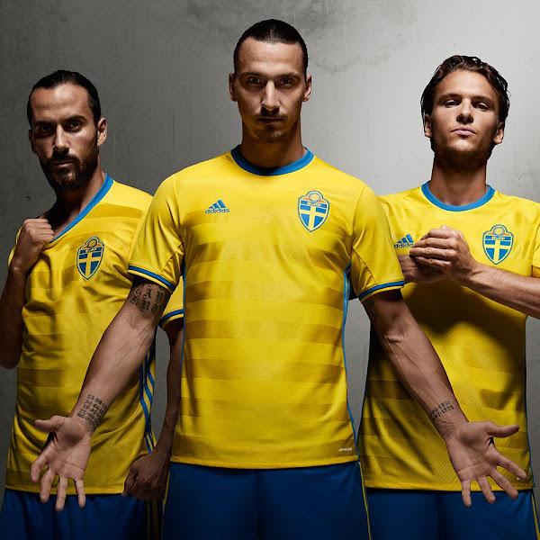 f93ba3bbf Sweden Euro 2016 Kit Released - Footy Headlines
