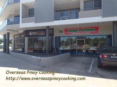Vangie's Kitchen, Pinoy Takeaway in Darwin