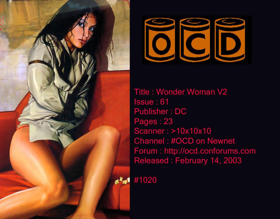 Read online Wonder Woman (1987) comic -  Issue #61 - 1