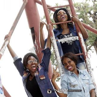 Dafuq? See Where Three OAU Female Graduates Climbed To Celebrate Their Passout