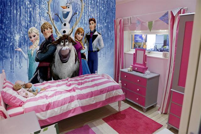 Tapetti lastenhuoneeseen valokuvatapetti lapsia Disney Frozen lastenhuone tapetti lasten tapetti