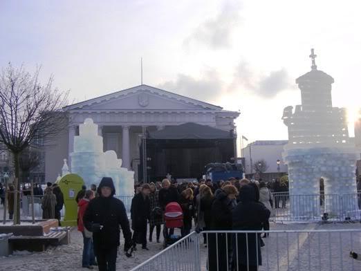 Ledinės skulptūros Vilniuje