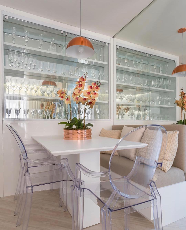 Construindo Minha Casa Clean 02 16 18 -> Cadeiras Para Sala De Jantar Acrilico