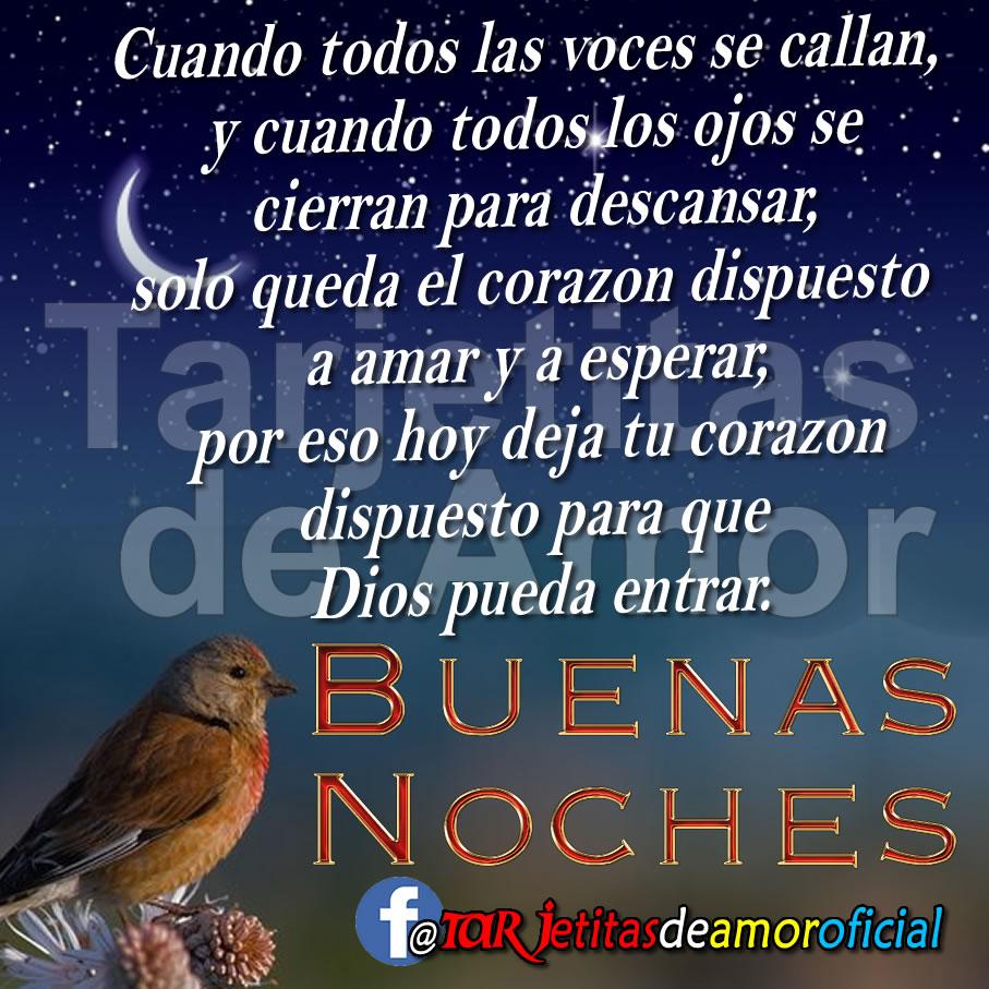 ❣🌹Con este mensaje de buenas noches te mando dulces caricias y un beso para desearte felices sue±os ¡Buenas noches amor mio