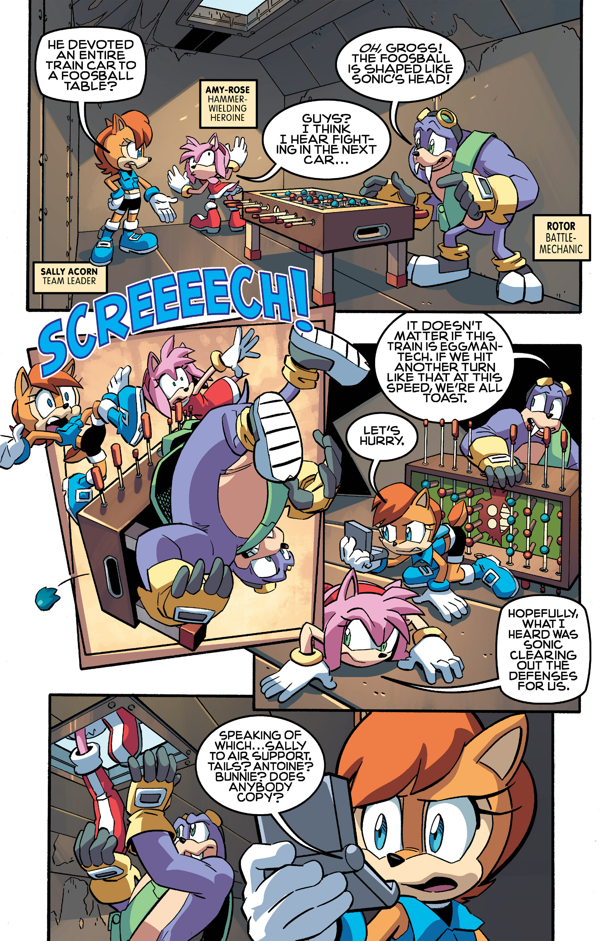 Read online Sonic The Hedgehog comic -  Issue #259 - 5