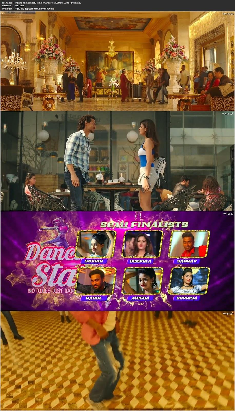 Munna Michael 2017 Hindi Movie HDRip 720p 1GB at movies500.me