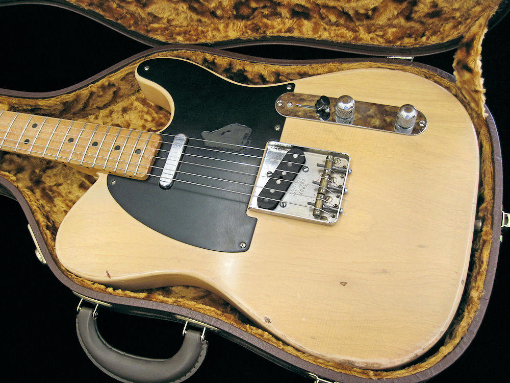 vintage guitarz 1951 fender nocaster blackguard all original. Black Bedroom Furniture Sets. Home Design Ideas