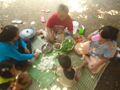 Piknik Libur Lebaran Bersama Keluarga