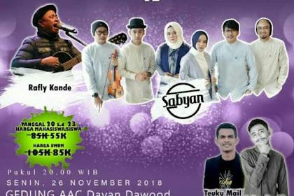 Seip Bereh Kira Ju, Na Nisa Sabyan Bak Festival Ushuluddin UIN Ar Raniry